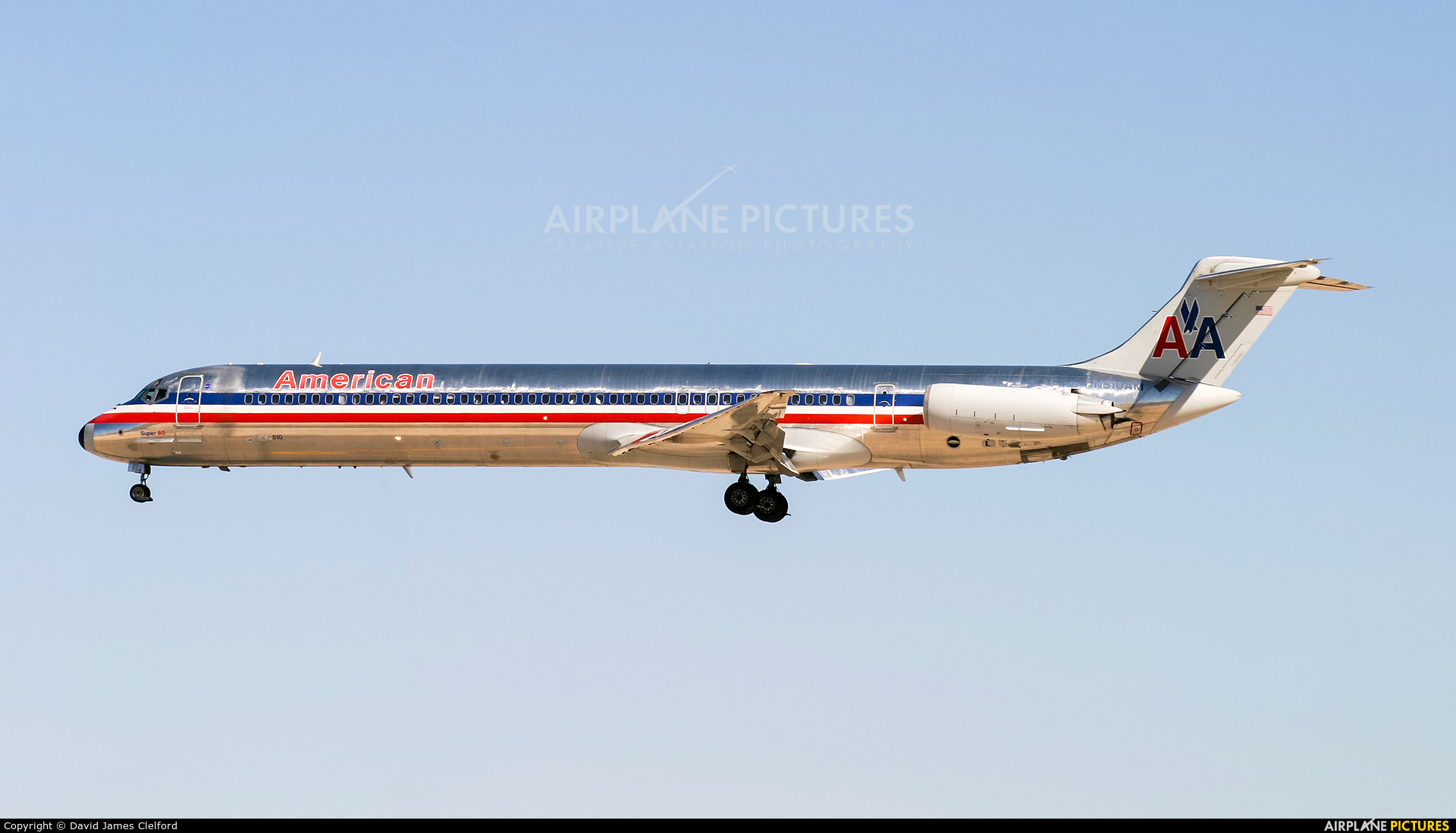 American Airlines N510AM aircraft at Las Vegas - McCarran Intl