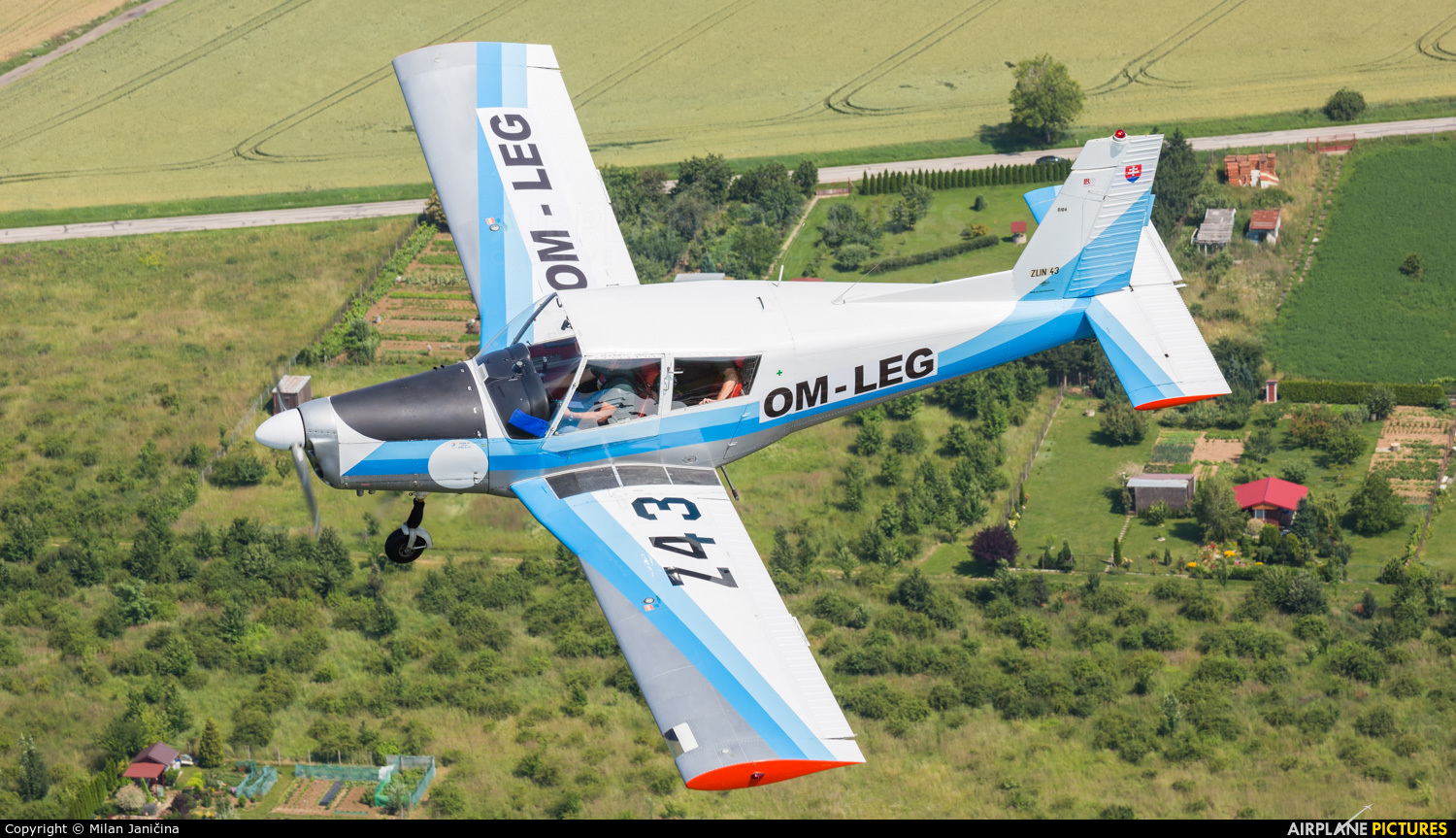 Private OM-LEG aircraft at In Flight - Slovakia