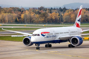 G-ZBJD - British Airways Boeing 787-8 Dreamliner