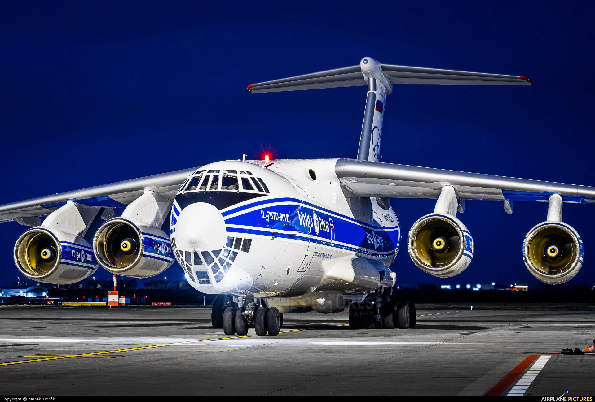 Volga Dnepr Airlines RA-76511 aircraft at Prague - Václav Havel