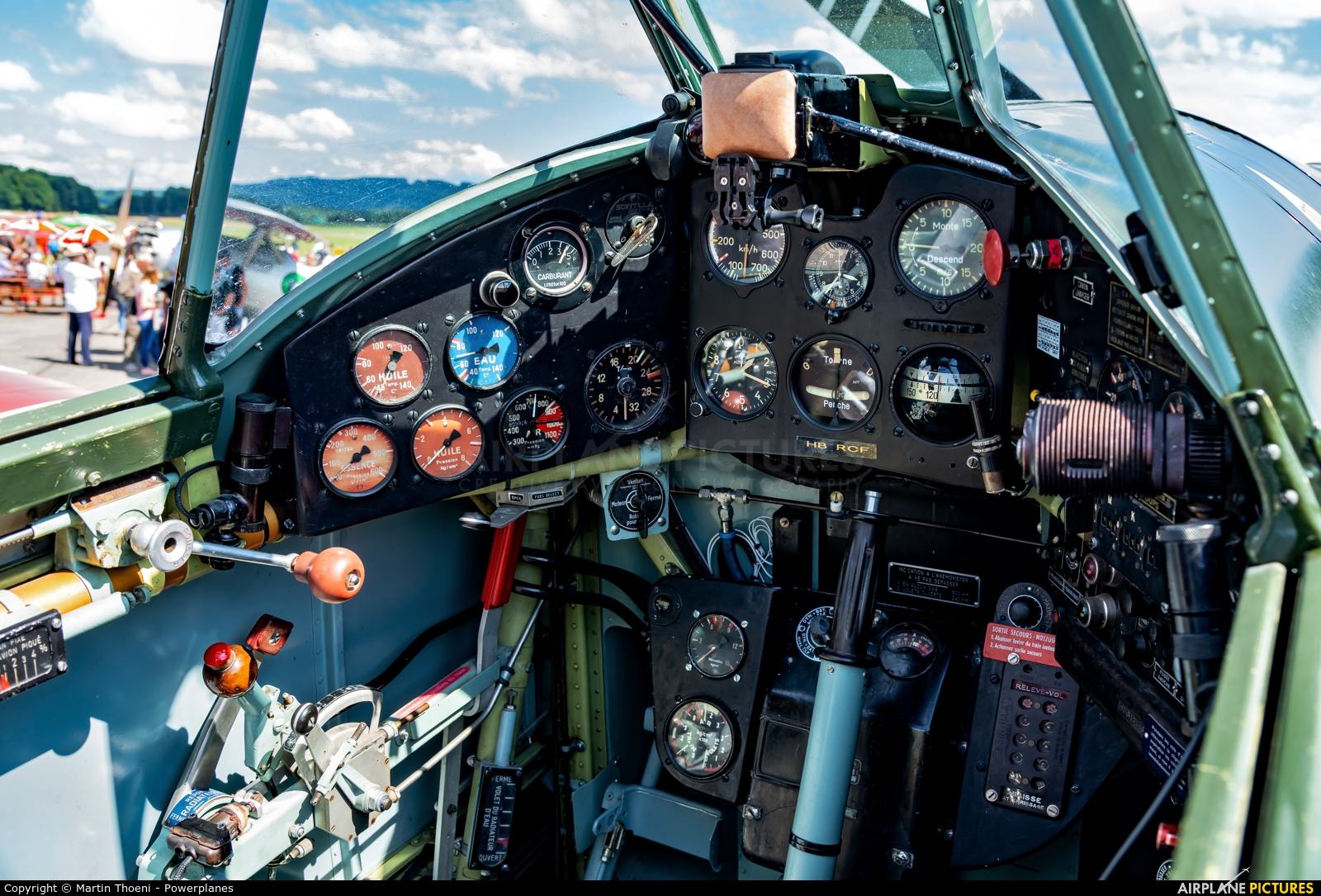 Private HB-RCF aircraft at Birrfeld
