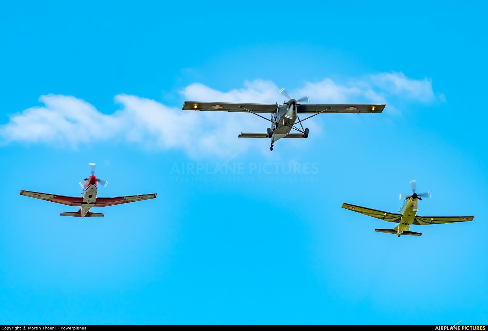 Switzerland - Air Force V-632 aircraft at Birrfeld