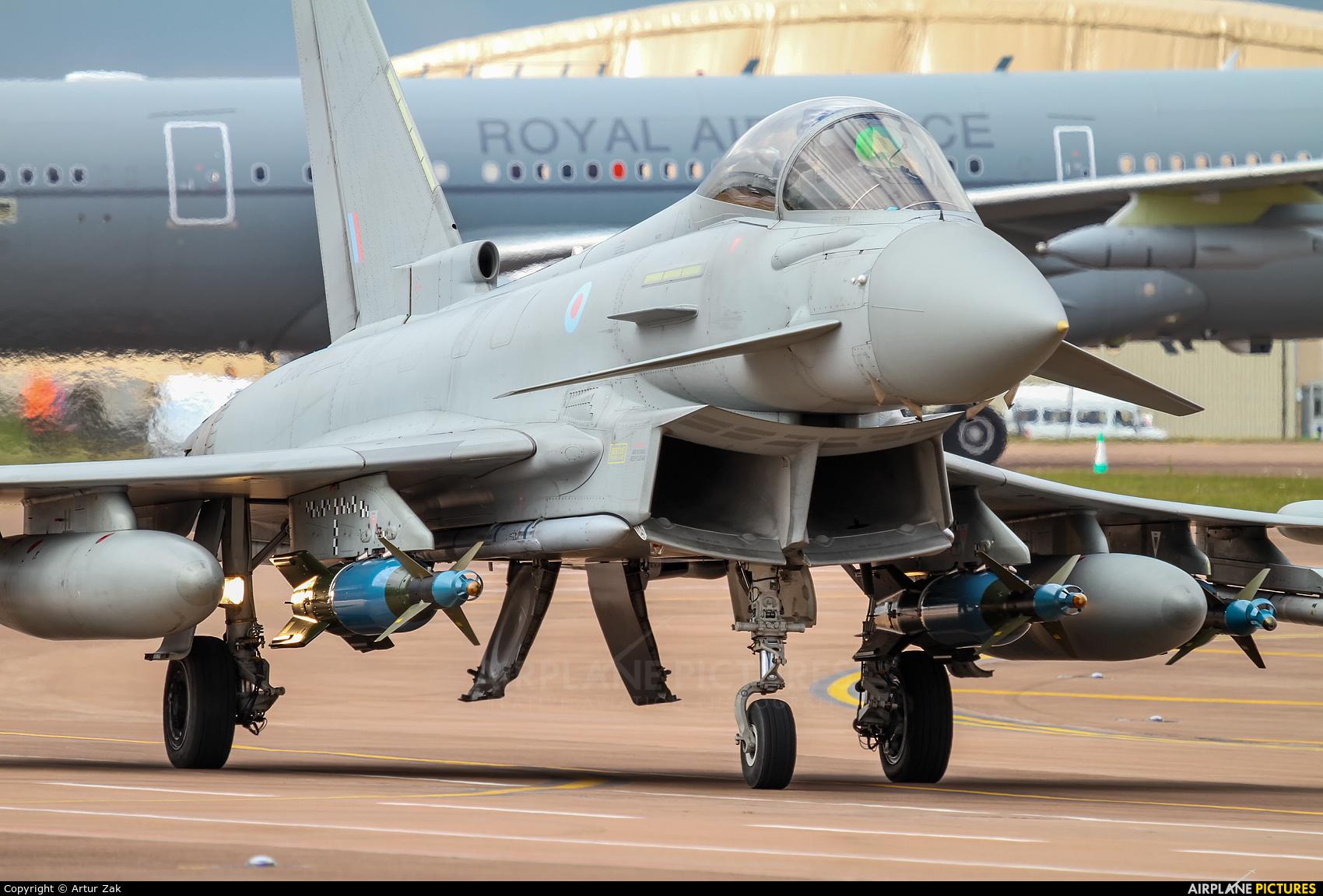 Royal Air Force ZJ700 aircraft at Fairford