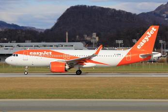 G-UZHW - easyJet Airbus A320 NEO