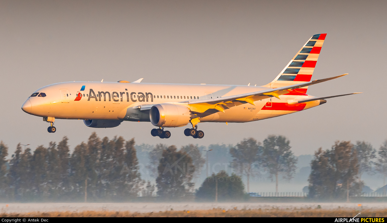 American Airlines N812AA aircraft at Amsterdam - Schiphol