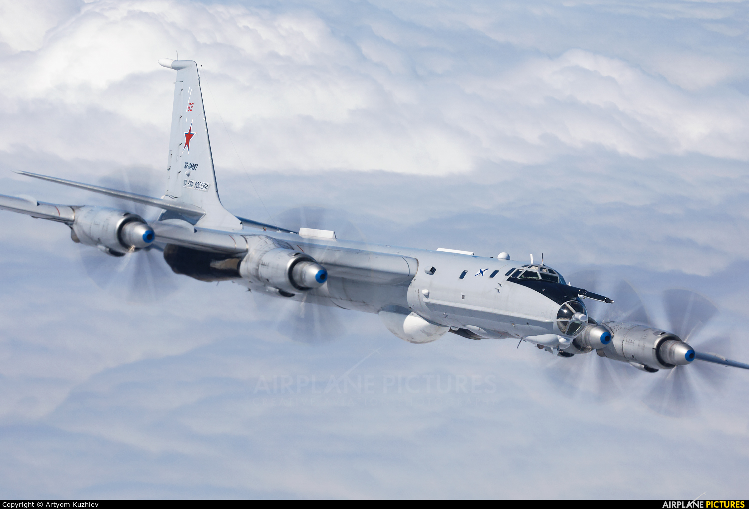 Russia - Navy RF-34097 aircraft at In Flight - Russia