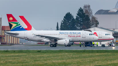 2-SSFG - South African Airways Airbus A319