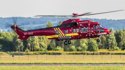 OY-HUZ - Air Greenland Airbus Helicopters H225M