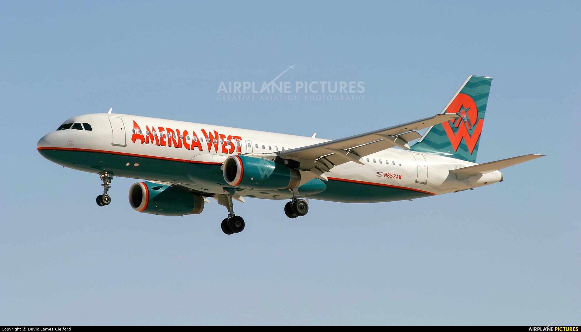 America West Airlines N652AW aircraft at Las Vegas - McCarran Intl