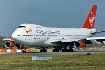 G-VJFK - Virgin Atlantic Boeing 747-200
