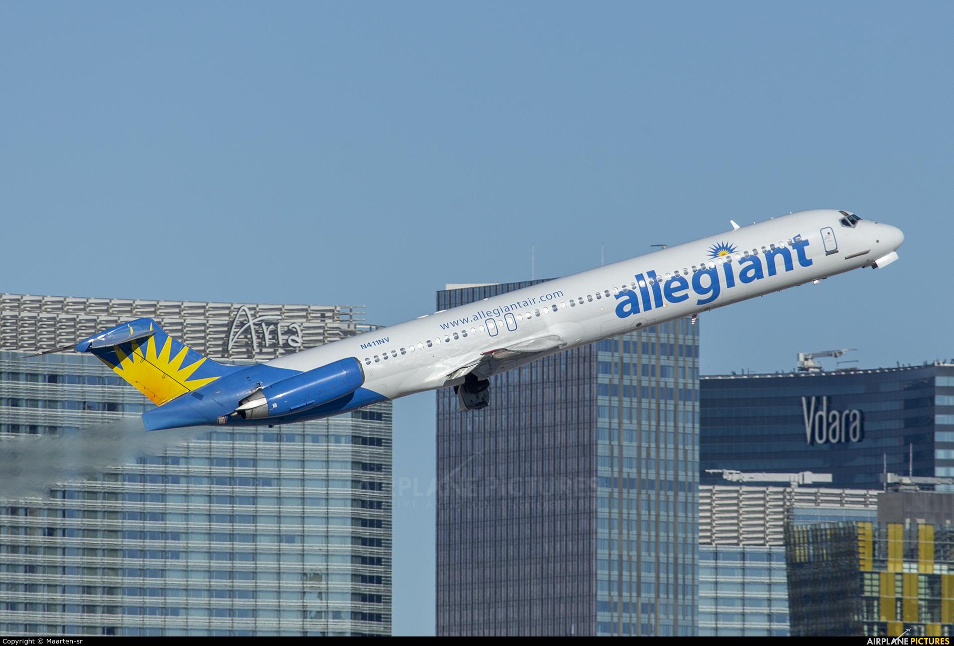 Allegiant Air N411NV aircraft at Las Vegas - McCarran Intl
