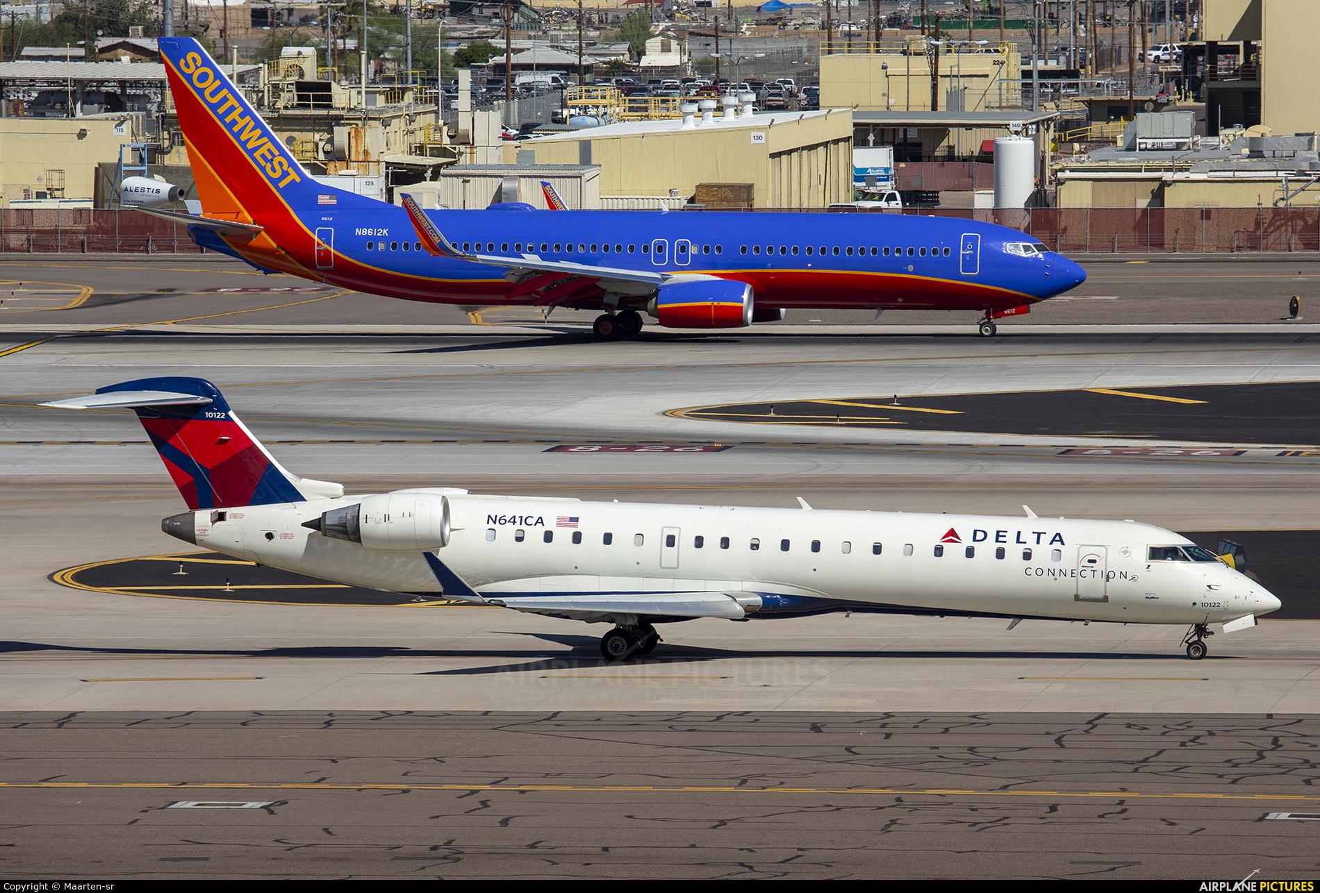Delta Connection N641CA aircraft at Phoenix - Sky Harbor Intl