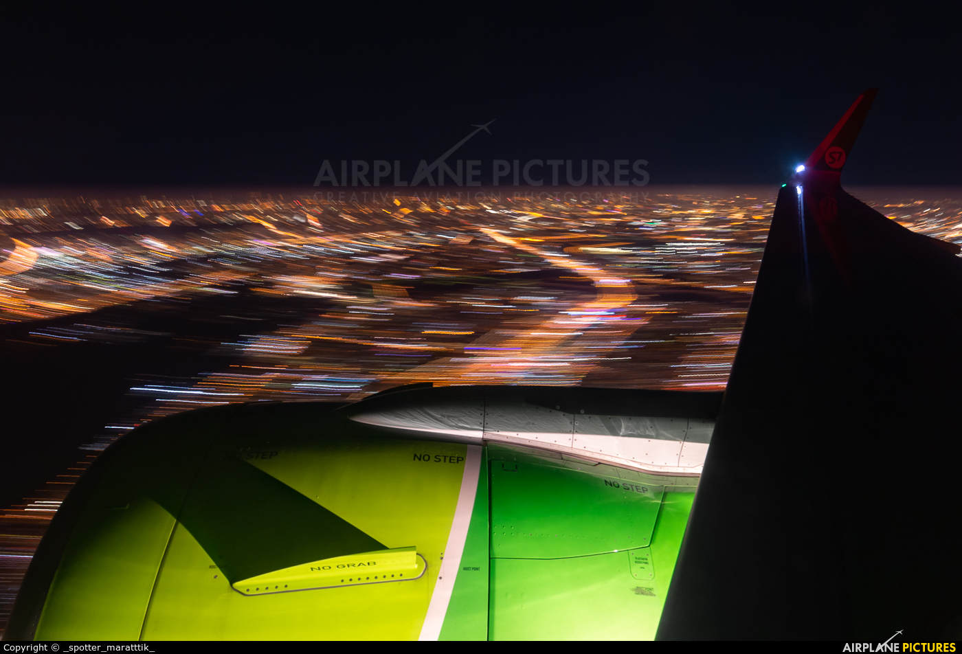 S7 Airlines VQ-BCF aircraft at In Flight - Russia