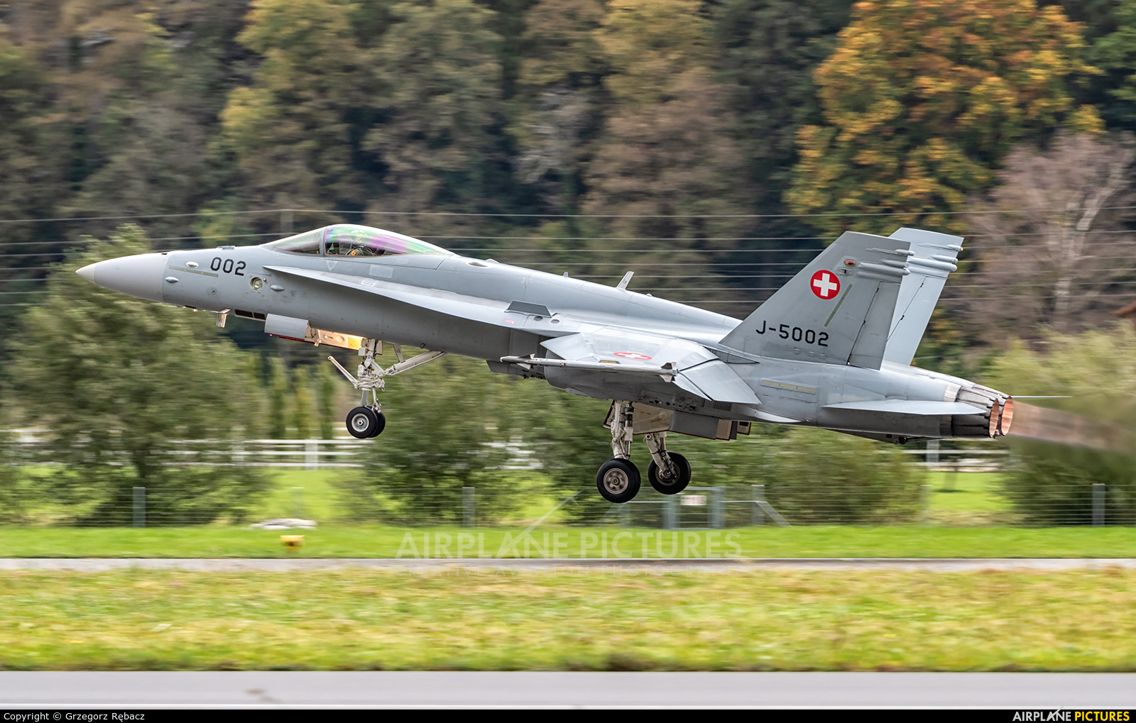 Switzerland - Air Force J-5002 aircraft at Meiringen