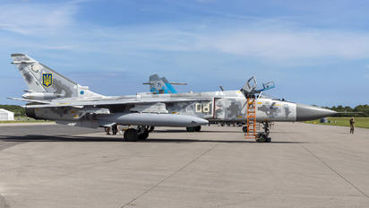 08 - Ukraine - Air Force Sukhoi Su-24M