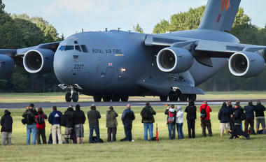 ZZ177 - Royal Air Force Boeing C-17A Globemaster III
