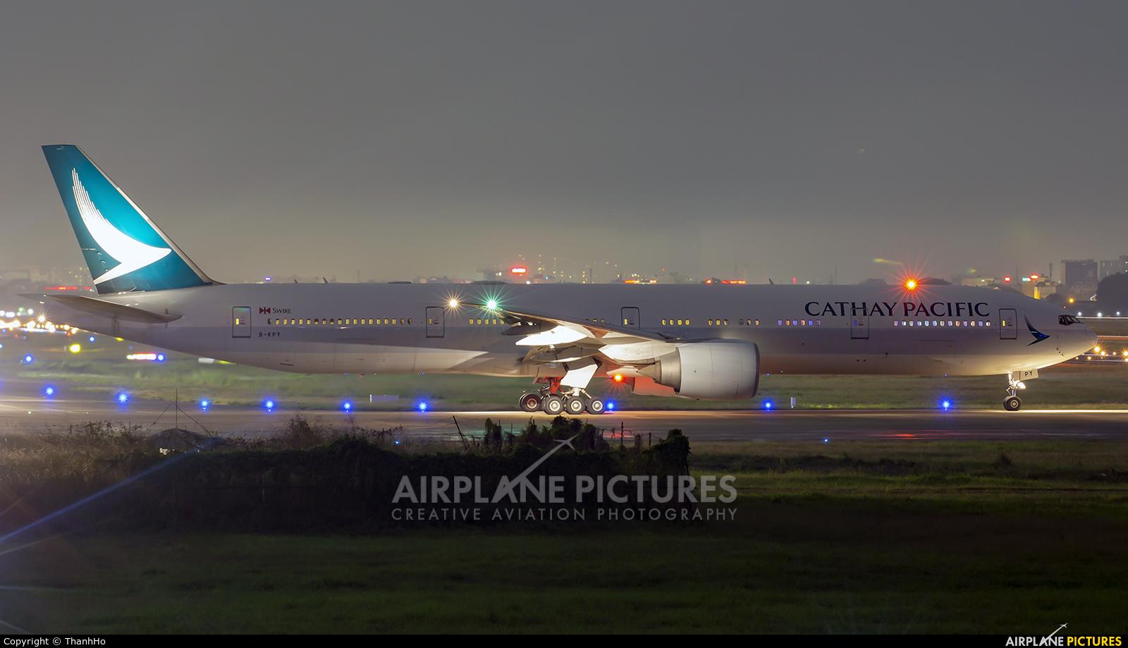 Cathay Pacific B-KPY aircraft at Ho Chi Minh City - Tan Son Nhat Intl