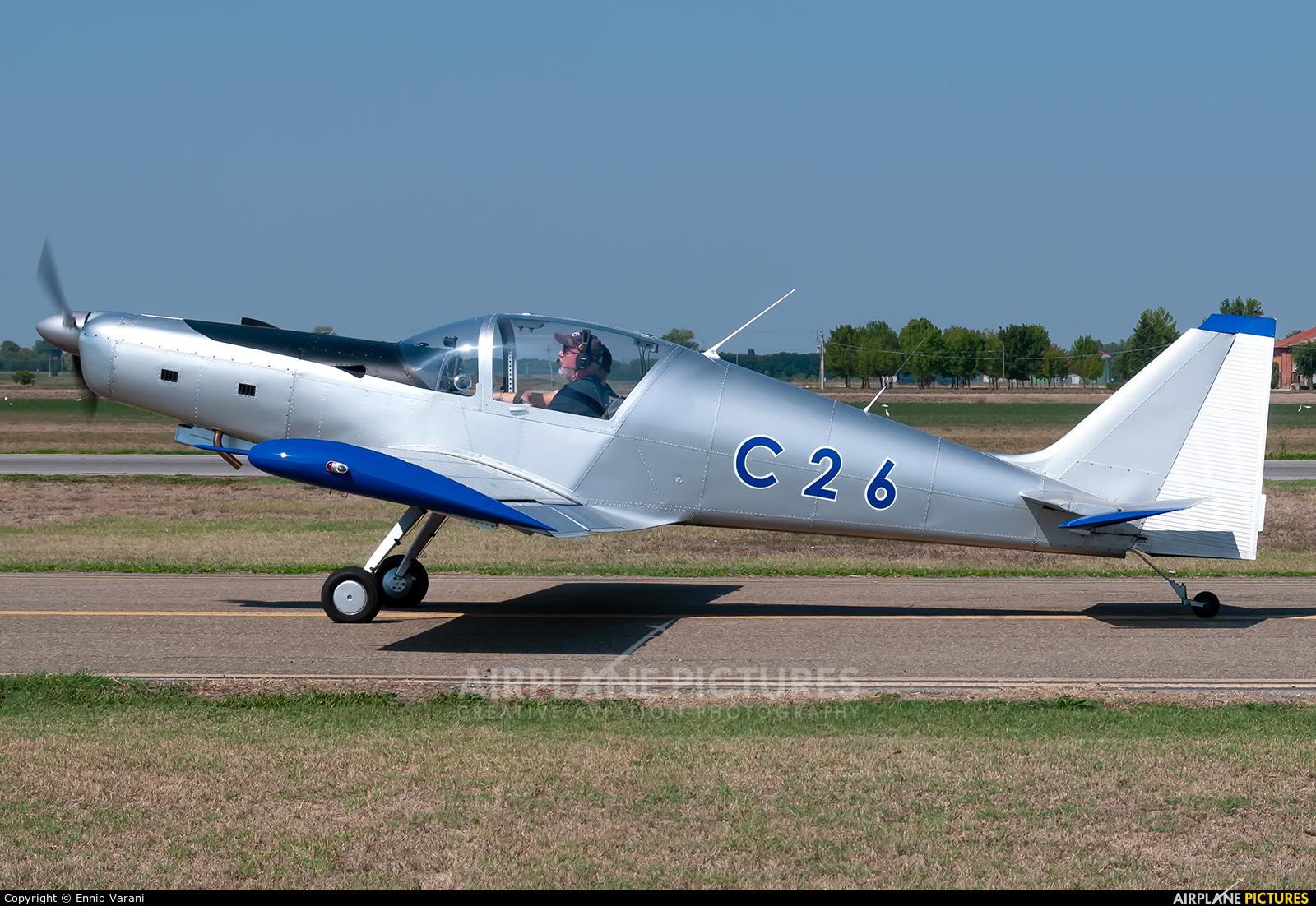 Private I-8315 aircraft at Ozzano dell