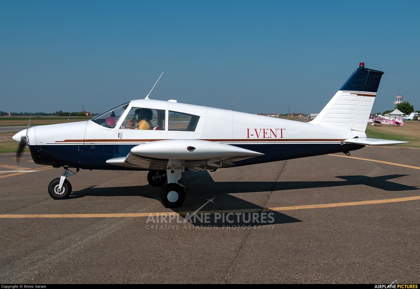 Private I-VENT aircraft at Ozzano dell