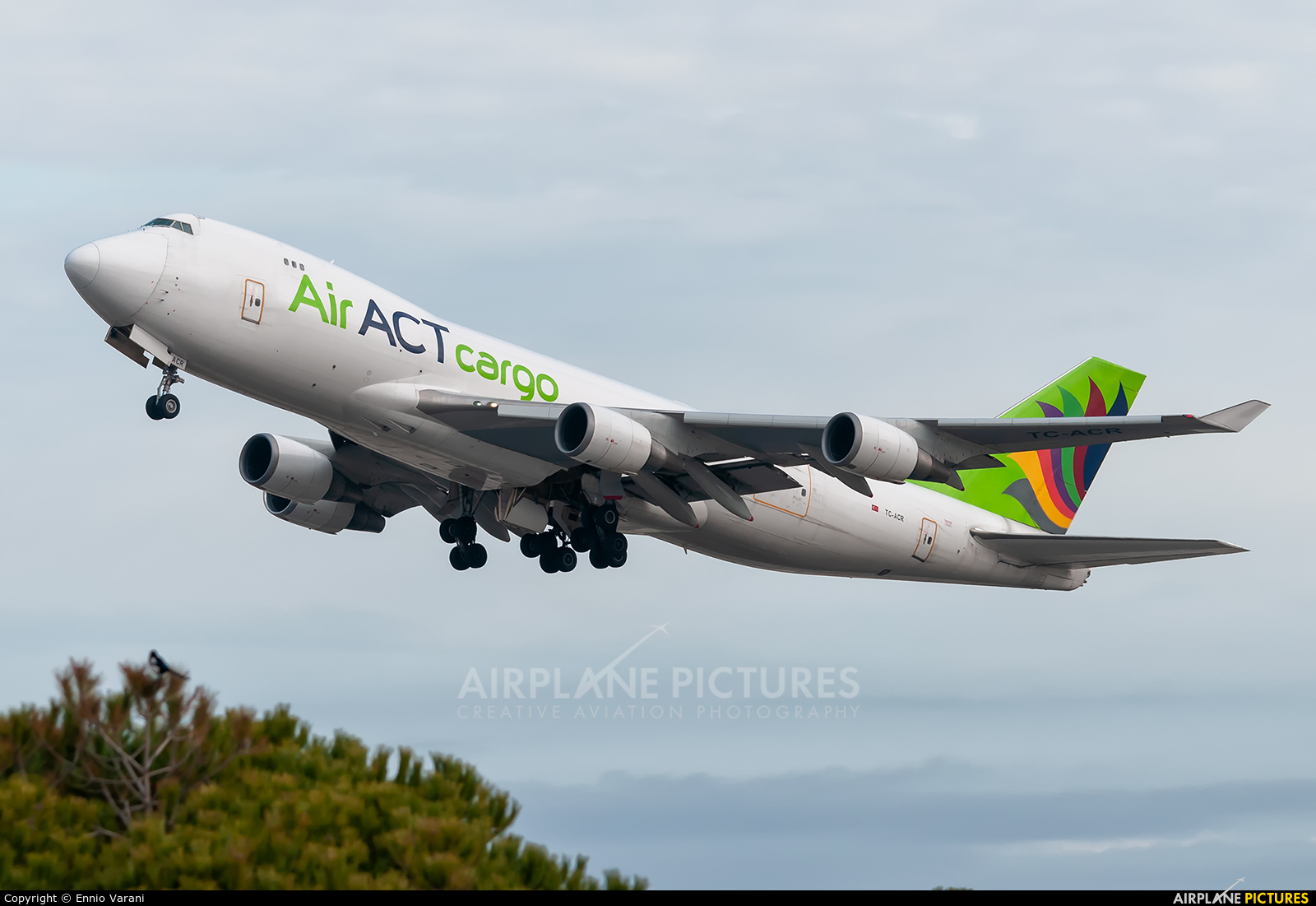 ACT Cargo TC-ACR aircraft at Barcelona - El Prat