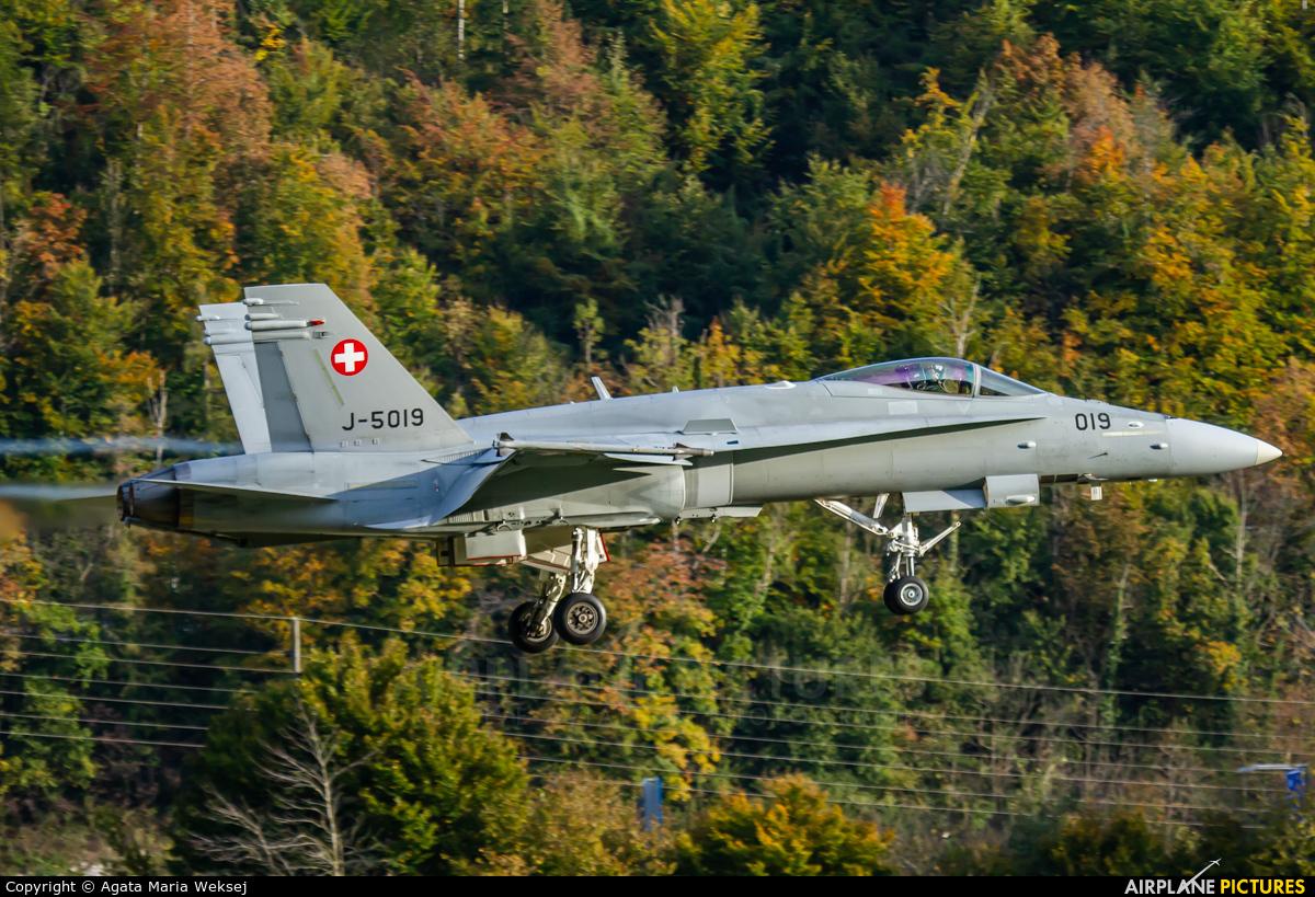 Switzerland - Air Force J-5019 aircraft at Meiringen