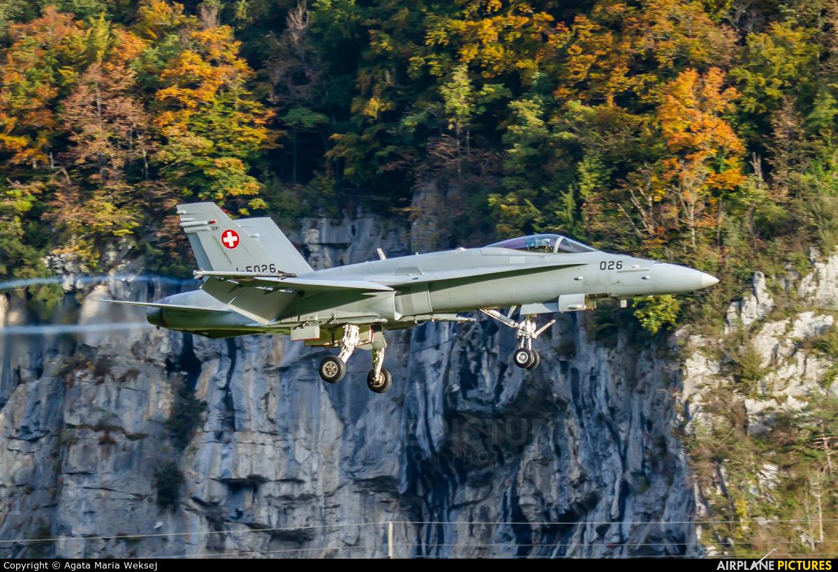 Switzerland - Air Force J-5026 aircraft at Meiringen