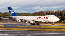 Rare visit of Astral Aviation B744 to Helsinki title=