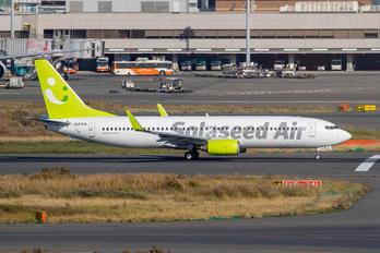 JA67AN - Solaseed Air - Skynet Asia Airways Boeing 737-800