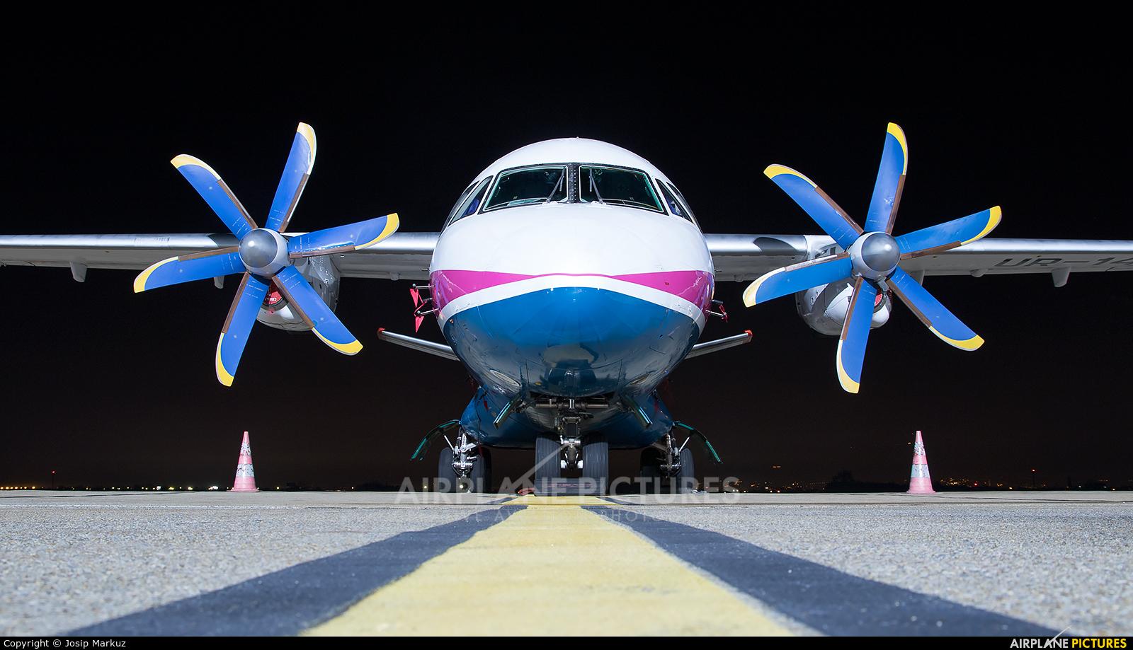 Motor Sich UR-14005 aircraft at Zagreb