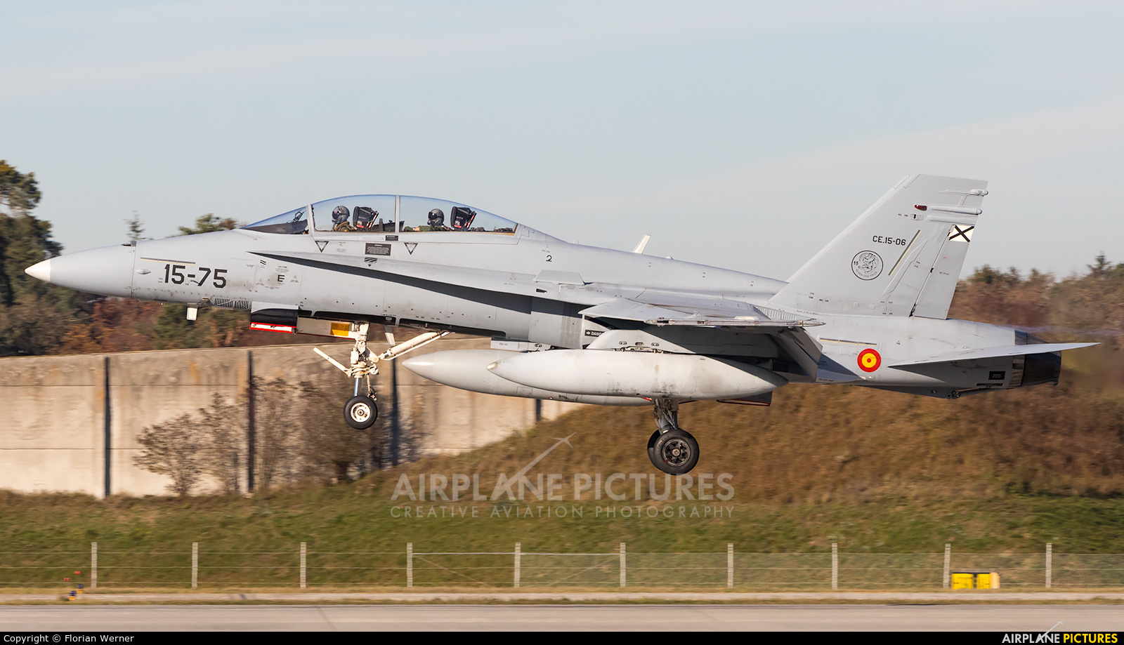 Spain - Air Force CE.15-06 aircraft at Ingolstadt - Manching