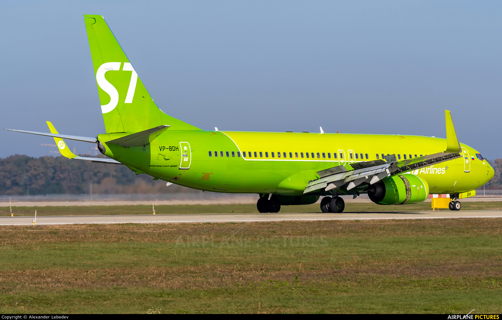 S7 Airlines VP-BDH aircraft at Krasnodar