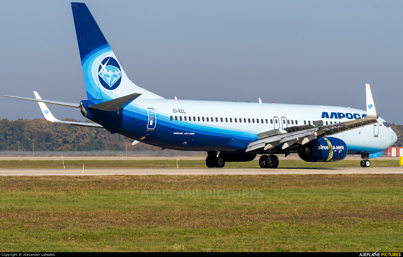 Alrosa EI-ECL aircraft at Krasnodar