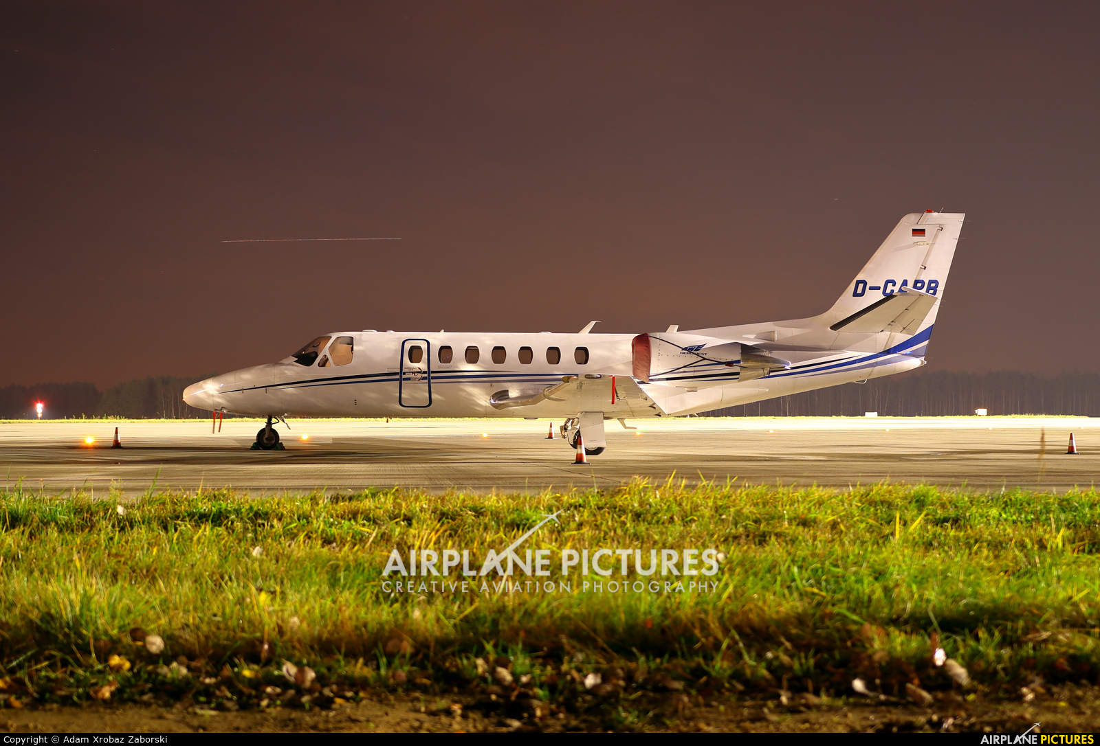 Private D-CAPB aircraft at Katowice - Pyrzowice