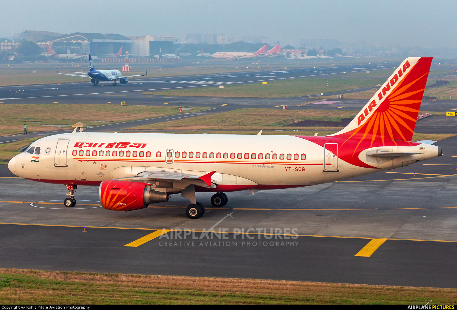 Air India VT-SCG aircraft at Mumbai - Chhatrapati Shivaji Intl