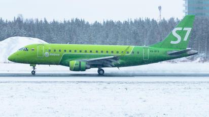 VQ-BYS - S7 Airlines Embraer ERJ-175 (170-200)