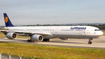 D-AIHK - Lufthansa Airbus A340-600 aircraft