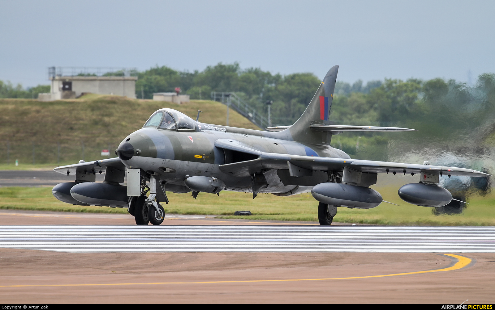 HHA ZZ190 aircraft at Fairford