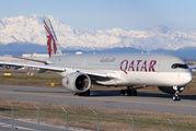 A7-AMG - Qatar Airways Airbus A350-900 aircraft