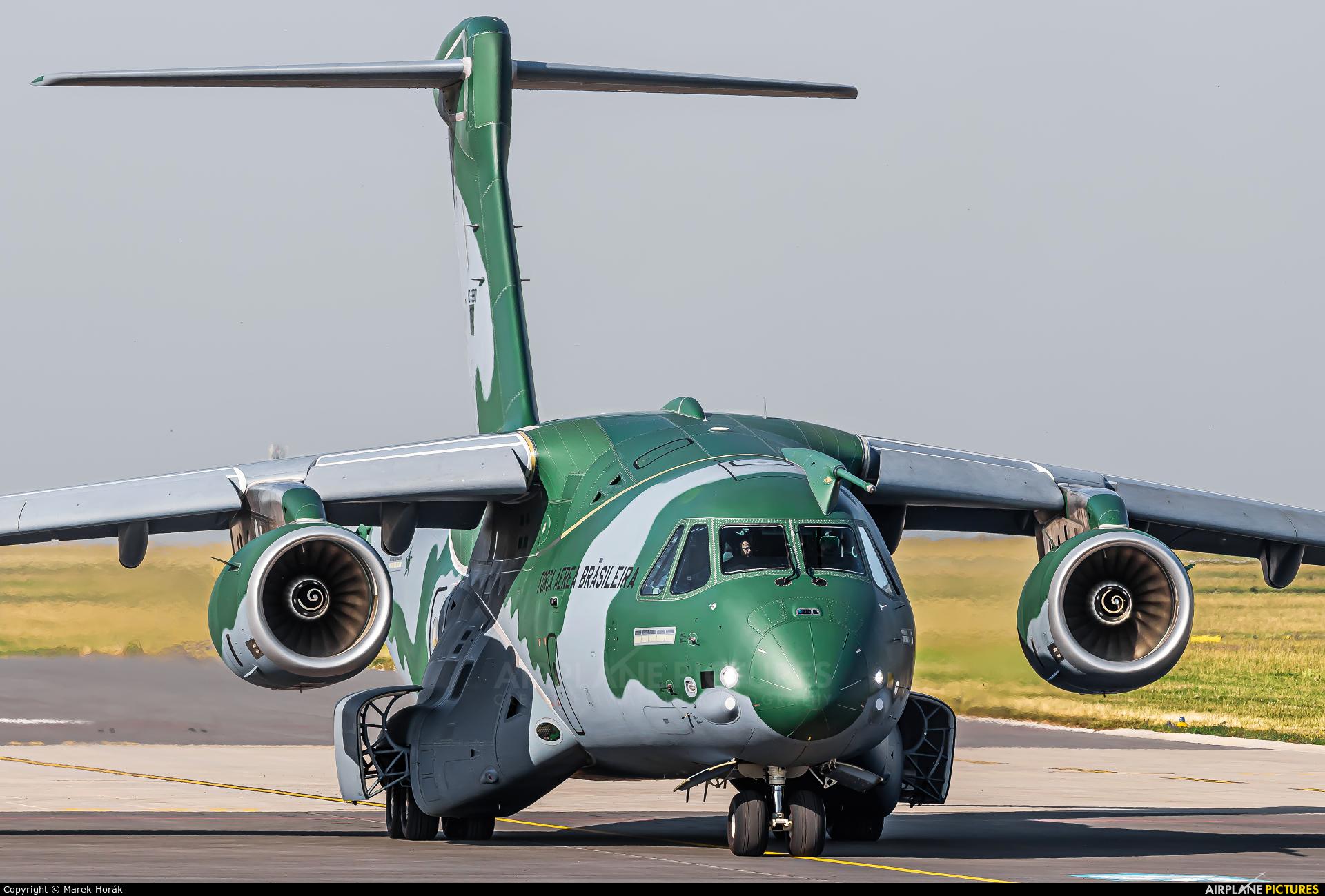 Brazil - Air Force PT-ZNX aircraft at Prague - Václav Havel