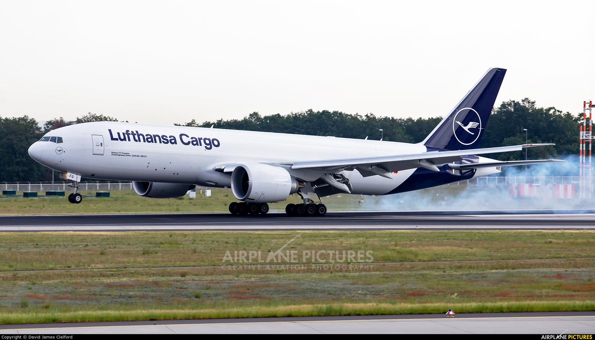 Lufthansa Cargo D-ALFG aircraft at Frankfurt