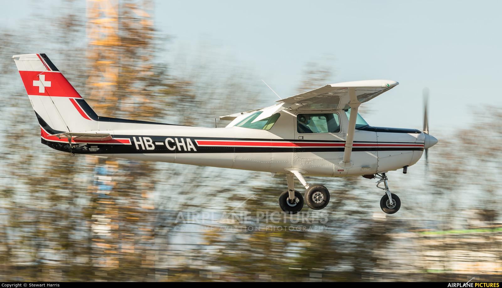 Aeroformation HB-CHA aircraft at Lausanne - La Blécherette