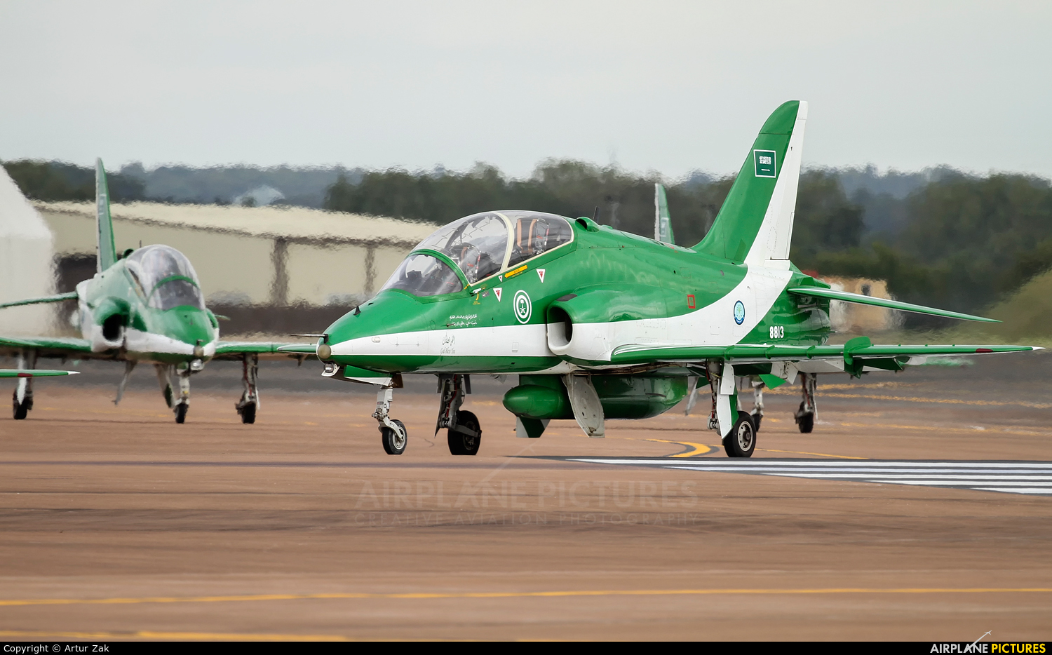 Saudi Arabia - Air Force: Saudi Hawks 8813 aircraft at Fairford