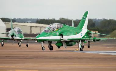 8813 - Saudi Arabia - Air Force: Saudi Hawks British Aerospace Hawk 65 / 65A