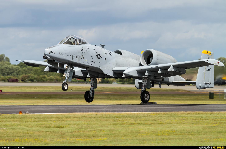 USA - Air Force 82-0649 aircraft at Fairford