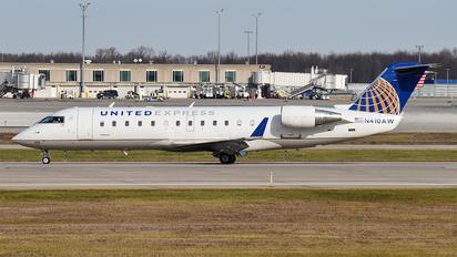 N410AW - United Express Bombardier CRJ-200ER