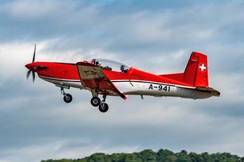 A-941 - Switzerland - Air Force Pilatus PC-7 I & II