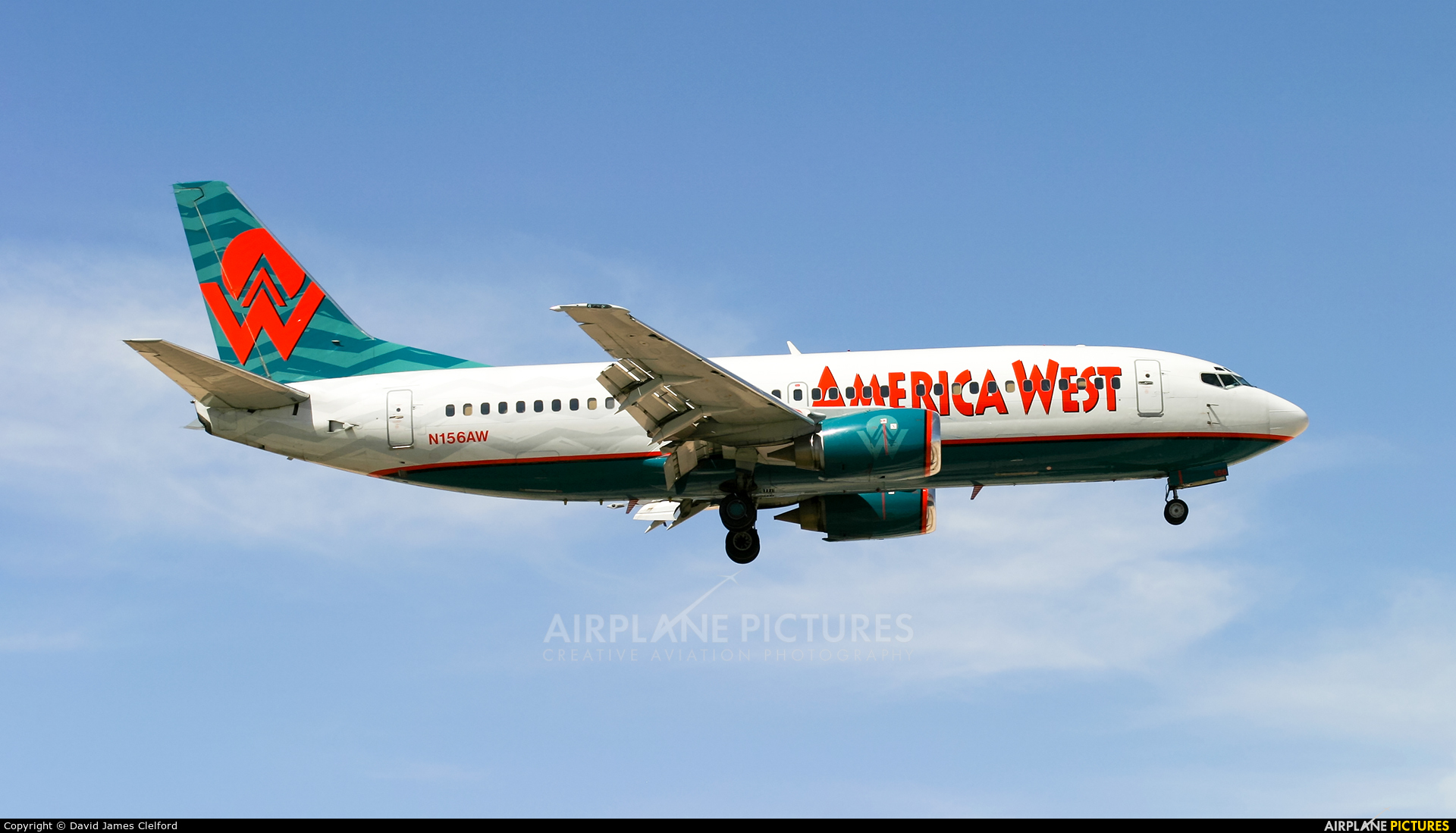 America West Airlines N156AW aircraft at Las Vegas - McCarran Intl