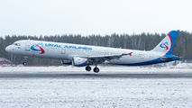 VQ-BCX - Ural Airlines Airbus A321 aircraft