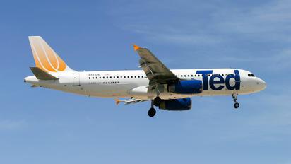 N481UA - Ted Airbus A320