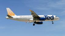 N481UA - Ted Airbus A320 aircraft
